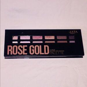 Rose Gold Ulta Beauty Eyeshadow Palette.